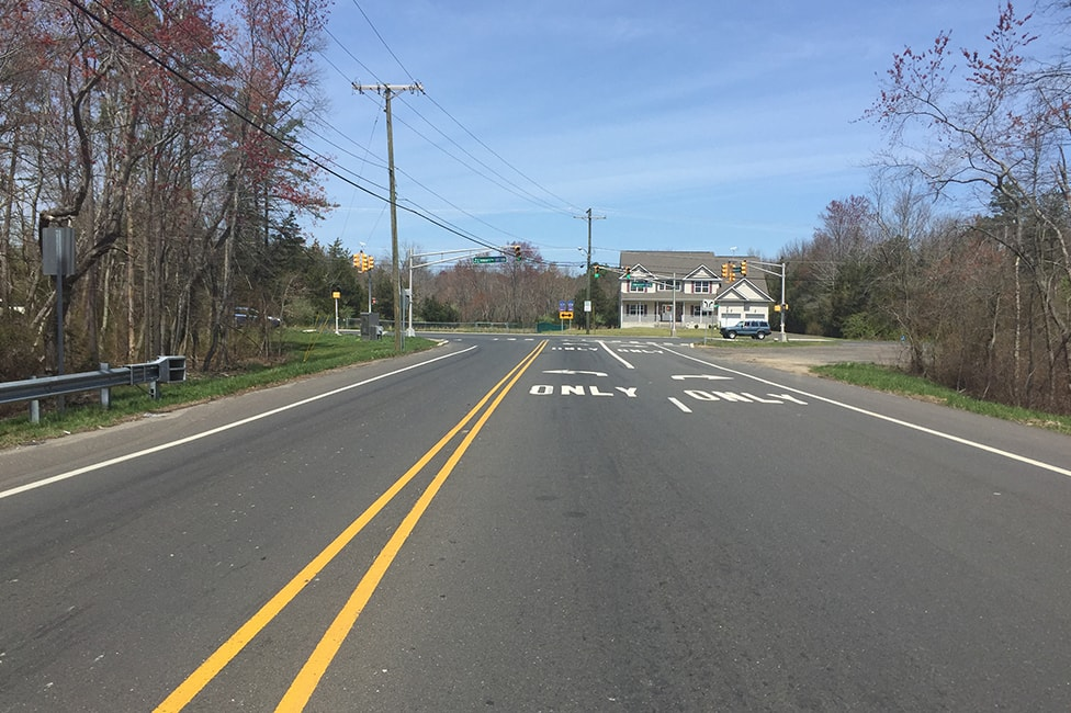 Reconstruction of Route 527