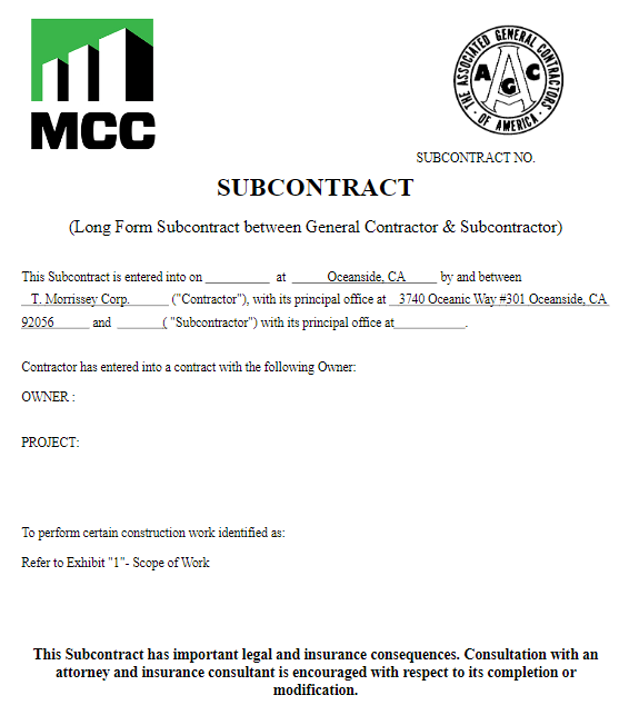 subcontract-options