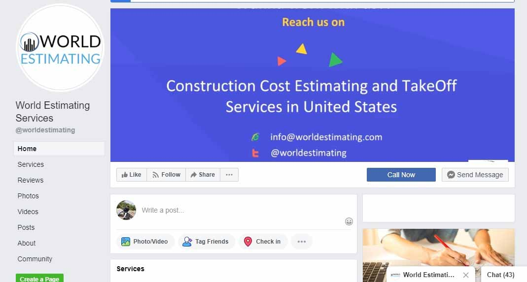 facebook, Want to Market A Construction Business