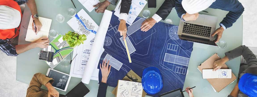 Important phases in construction process